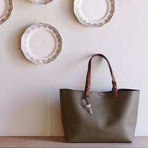 Fossil Olive Green Rachel Tote